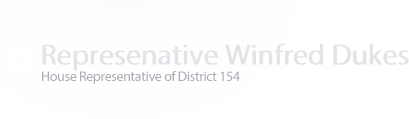 Representative Winfred Dukes Logo